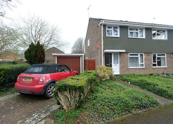 Thumbnail 3 bed semi-detached house for sale in Canterbury Drive, Dibden