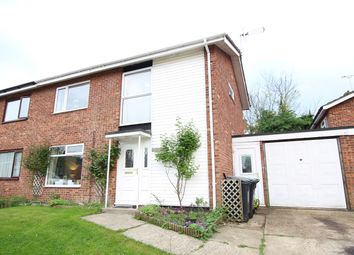 Thumbnail 3 bed semi-detached house for sale in Ely Road, Claydon, Ipswich, Suffolk