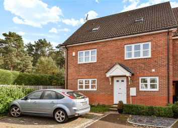 Thumbnail 3 bed town house to rent in Brakes Rise, College Town, Sandhurst, Berkshire