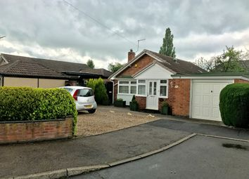 Thumbnail 3 bedroom detached bungalow for sale in Torcross Close, Glenfield, Leicester