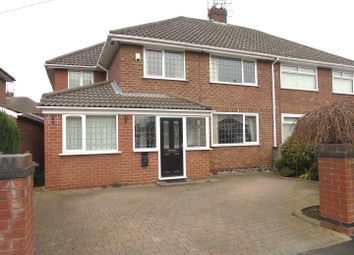 Thumbnail 4 bed semi-detached house for sale in Taunton Drive, Aintree, Liverpool
