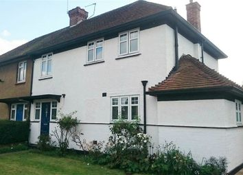 Thumbnail 3 bed semi-detached house for sale in Berryscroft Road, Staines-Upon-Thames, Surrey