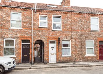 Thumbnail 2 bedroom terraced house for sale in Hawthorn Street, York, North Yorkshire