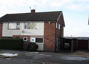 Thumbnail 3 bedroom semi-detached house for sale in Chestnut Road, Glenfield, Leicester