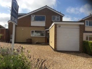 Thumbnail 5 bed detached house for sale in Coverside Road, Great Glen, Leicester