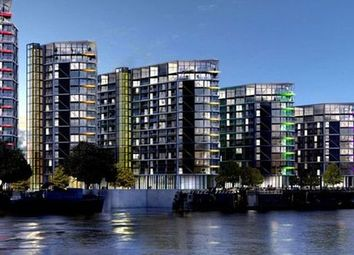 Thumbnail 3 bed flat for sale in Riverlight Quay, London
