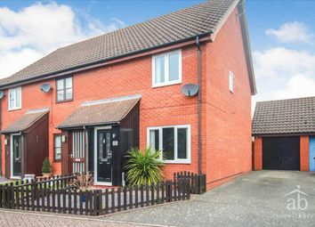 Thumbnail 2 bed end terrace house for sale in The Chase, Martlesham Heath, Ipswich