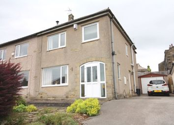 Thumbnail 3 bed semi-detached house for sale in Coley View, Northowram, Halifax