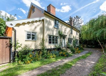 Thumbnail 3 bed detached house for sale in The Street, Thornham Magna, Suffolk