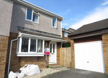 Thumbnail 3 bed semi-detached house for sale in Hallett Close, Latchbrook, Saltash