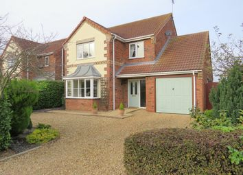 Thumbnail 4 bed detached house for sale in Post Office Lane, Sutterton, Boston