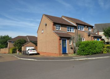 Thumbnail 3 bed semi-detached house for sale in Lubeck Drive, Andover
