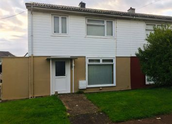 Thumbnail 3 bed semi-detached house for sale in Milton Crescent, Milford Haven, Pembrokeshire