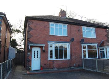 Thumbnail 2 bed semi-detached house for sale in Second Avenue, Stafford