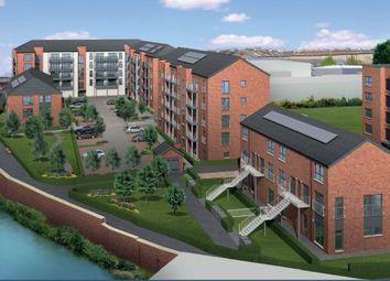 Thumbnail 3 bed flat for sale in Plot 64, Waterside Walk, Bonnington