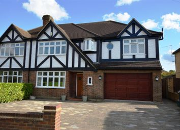 Thumbnail 5 bedroom semi-detached house for sale in Edenfield Gardens, Worcester Park