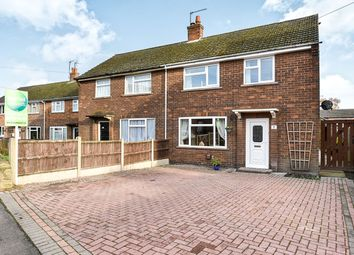 Thumbnail 3 bed semi-detached house for sale in Belle Vue Avenue, Marehay, Ripley