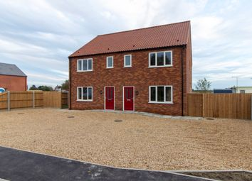 Thumbnail 3 bed semi-detached house for sale in Spice Chase, Tilney St. Lawrence, King's Lynn