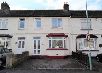 Thumbnail 3 bed terraced house for sale in Sturdee Avenue, Gillingham