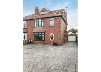 Thumbnail 5 bed semi-detached house for sale in Coast Road, Redcar