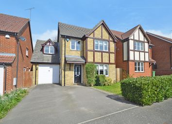 Thumbnail 4 bed detached house for sale in Chippendayle Drive, Harrietsham, Maidstone