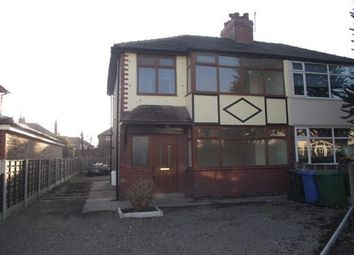 Thumbnail 3 bed property to rent in Rossall Road, Warrington