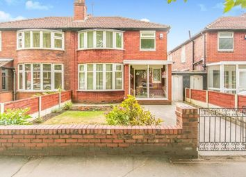Thumbnail 3 bedroom semi-detached house for sale in Mauldeth Road, Manchester, Greater Manchester, Uk