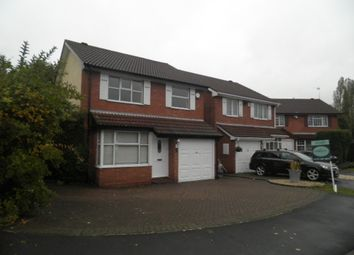 Thumbnail 3 bedroom detached house to rent in Oakenhayes Crescent, Minworth, Sutton Coldfield