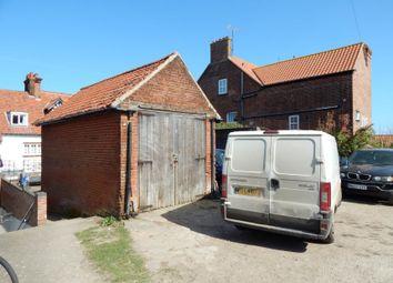 Thumbnail Parking/garage for sale in Land & Garages Off Sadlers Lane, Abbey Road, Sheringham, Norfolk