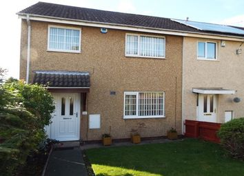 Thumbnail 3 bed end terrace house to rent in Chevin Gardens, Nottingham