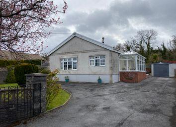 Thumbnail 3 bed detached bungalow for sale in Derwen Road, Tumble, Llanelli