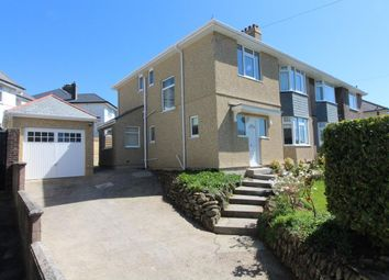 Thumbnail 4 bed semi-detached house for sale in Venn Grove, Hartley, Plymouth