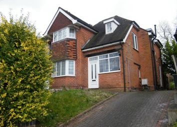 Thumbnail 3 bed detached house for sale in Coopers Road, Handsworth Wood, Birmingham