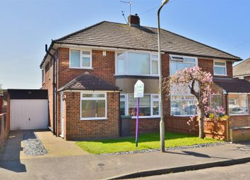 Thumbnail 3 bed semi-detached house for sale in Whitehouse Crescent, Burham, Rochester