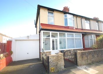 Thumbnail 3 bed end terrace house for sale in Hudson Road, Blackpool
