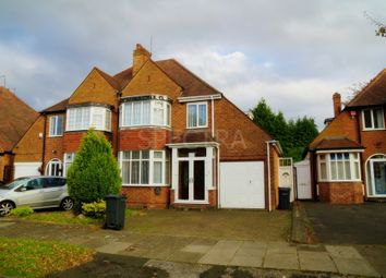 Thumbnail 3 bed semi-detached house to rent in Staplehurst Road, Hall Green, Birmingham
