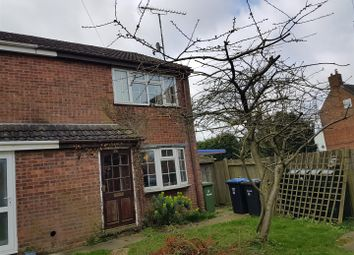 Thumbnail 2 bedroom end terrace house for sale in Cromwell Close, Walcote, Lutterworth