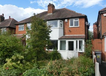 Thumbnail 3 bed property for sale in Newborough Road, Shirley, Solihull