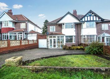 Thumbnail 3 bedroom semi-detached house for sale in Quinton Road, Harborne, Birmingham