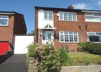 Thumbnail 3 bed semi-detached house for sale in Brookfield Avenue, Offerton, Stockport, Cheshire