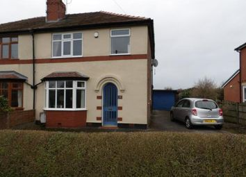 Thumbnail 3 bed semi-detached house for sale in Back Lane, Charnock Richard, Chorley, Lancashire