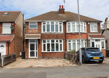 Thumbnail 3 bed semi-detached house for sale in Manor Road, Thurmaston, Leicester