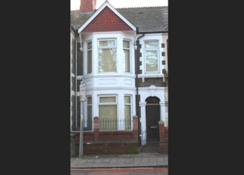 Thumbnail 3 bed terraced house for sale in Whitchurch Road, Cathays, Cardiff