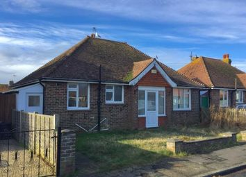 Thumbnail 3 bed bungalow for sale in Chyngton Gardens, Seaford, East Sussex