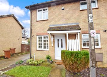 Thumbnail 1 bed terraced house for sale in Compton Close, Lords Wood, Chatham, Kent