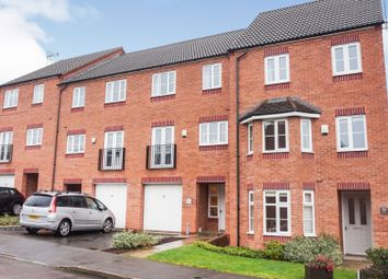 Thumbnail 4 bed town house for sale in Highfields Park Drive, Derby