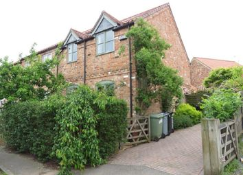 Thumbnail 3 bed end terrace house for sale in Kings Hill, Caythorpe, Grantham