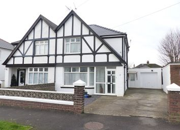Thumbnail 4 bed semi-detached house for sale in Neville Road, Bridgend