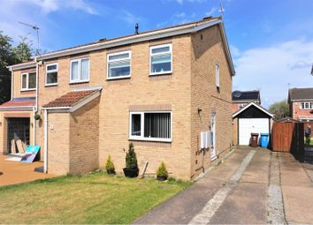 Thumbnail 2 bed semi-detached house for sale in Brunslow Close, Hull