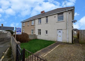 Thumbnail 3 bed semi-detached house for sale in Nelson Avenue, Hakin, Milford Haven